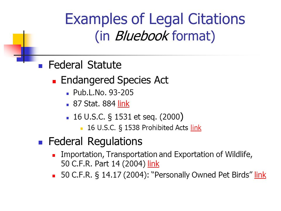 Finding the law administrative law secondary sources in print examples of legal citations in bluebook format ccuart Image collections