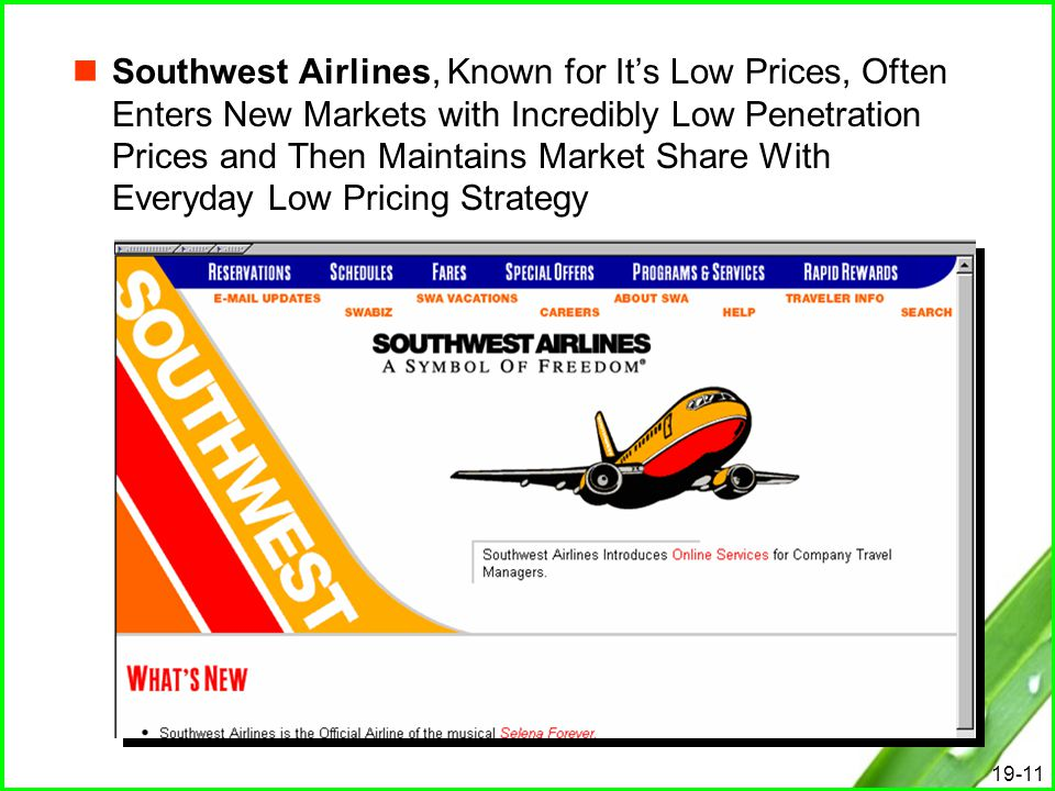 marketing strategy in low cost airlines Its latest strategy stating that american would match any fare the low-cost airlines could muster and fight to keep them from poaching american's customers.