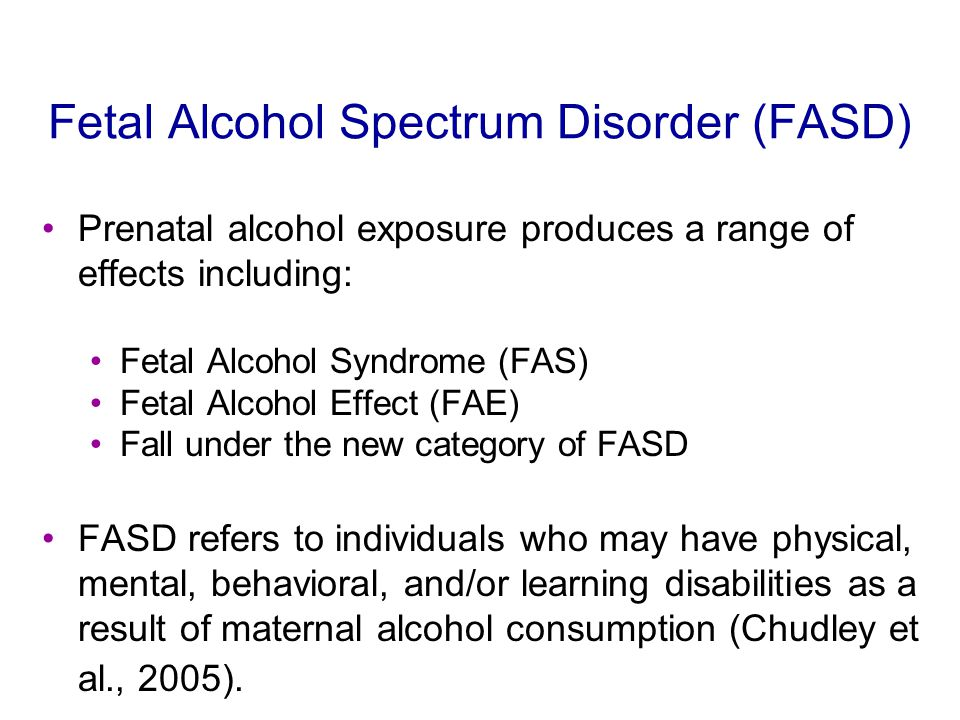 Effects of Prenatal Alcohol Exposure on Child Development