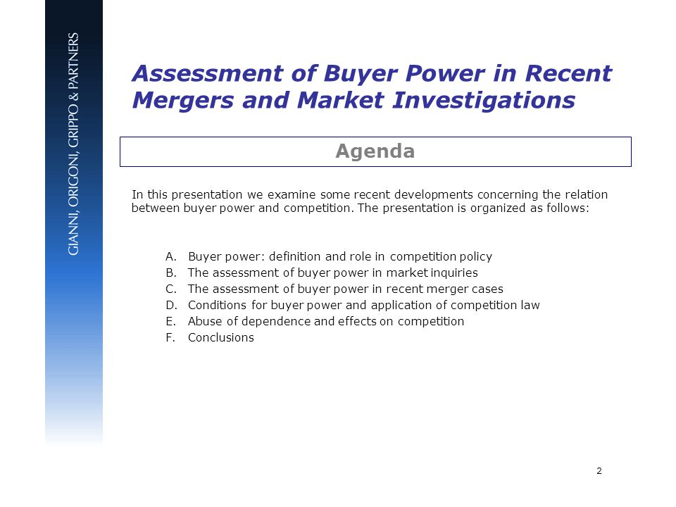 buyer power total market power of Buyer power and industry structure  when a large buyer exercises market power to influence  significantly the total quantity demanded at any price4.