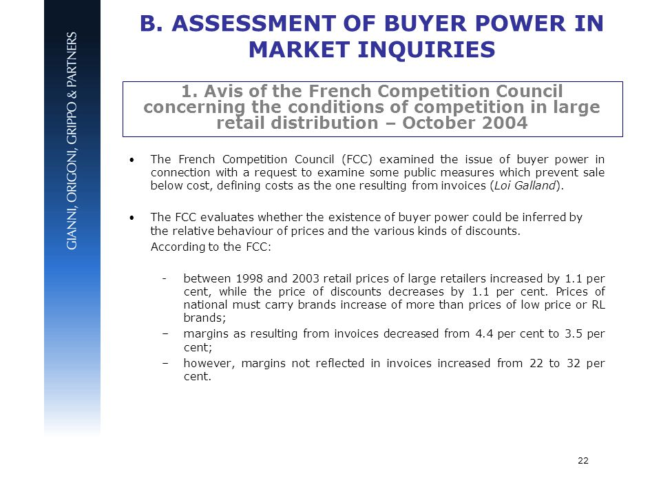 assessment of market power Assessment of market power in competition cases is and will remain a  cornerstone of competition law and policy, and the points argued in debates a  generation.