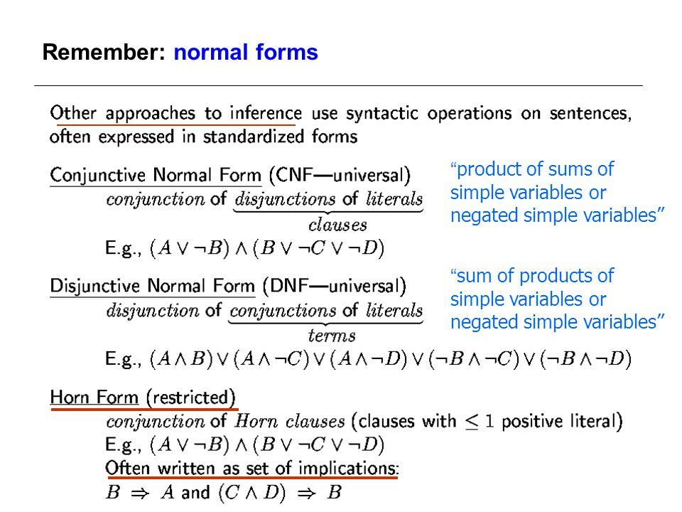 Inference in First-Order Logic - ppt video online download