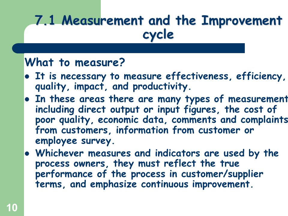 Seven Steps To Measure Supplier Performance