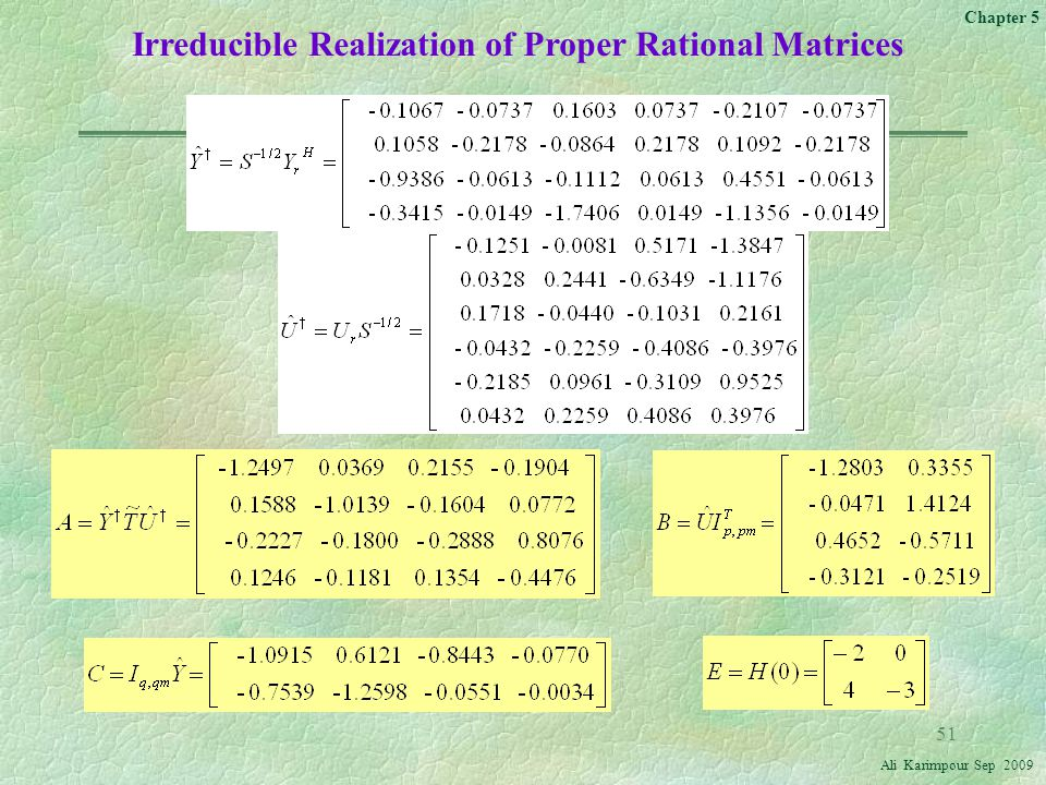 Irreducible Realization of Proper Rational Matrices