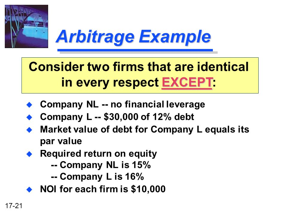 capital structure determination ppt