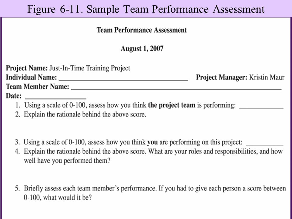 introduction to assessment project Introduction to project management  overview  the purpose of presentation is to  provide leaders and team members of projects, committees or task forces with.