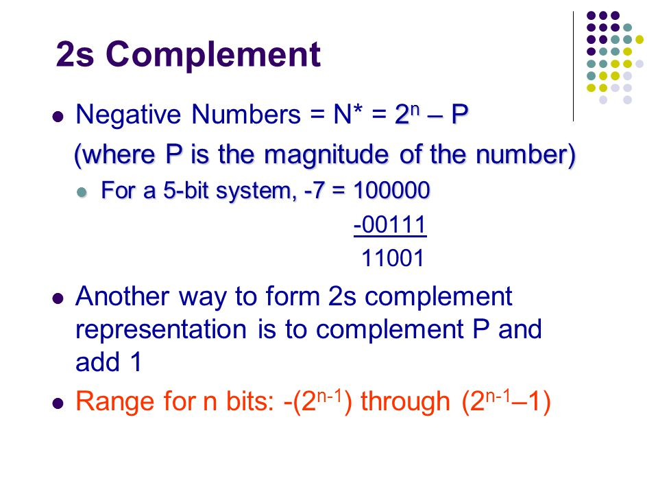 1s complement and 2s complement pdf