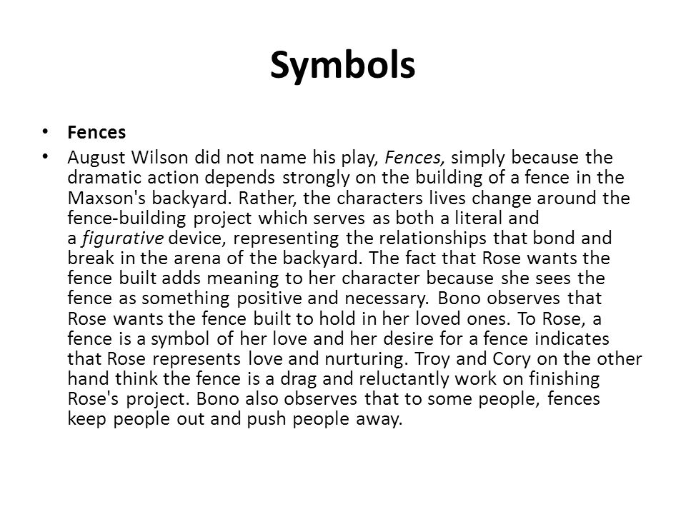 essay on fences troy and corys relationship Father-child relationships in hamlet and fences essay a pages:5 words:1123   but troy-cory relationship in fences is not the case whether the cause is.