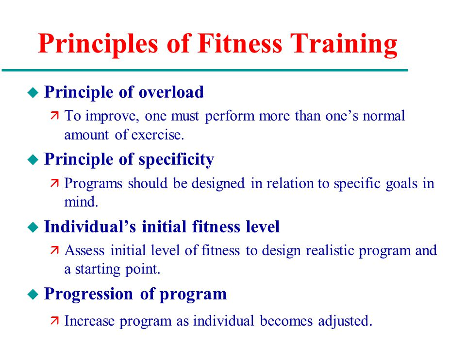 Chapter 7 Exercise Physiology And Fitness Ppt Video