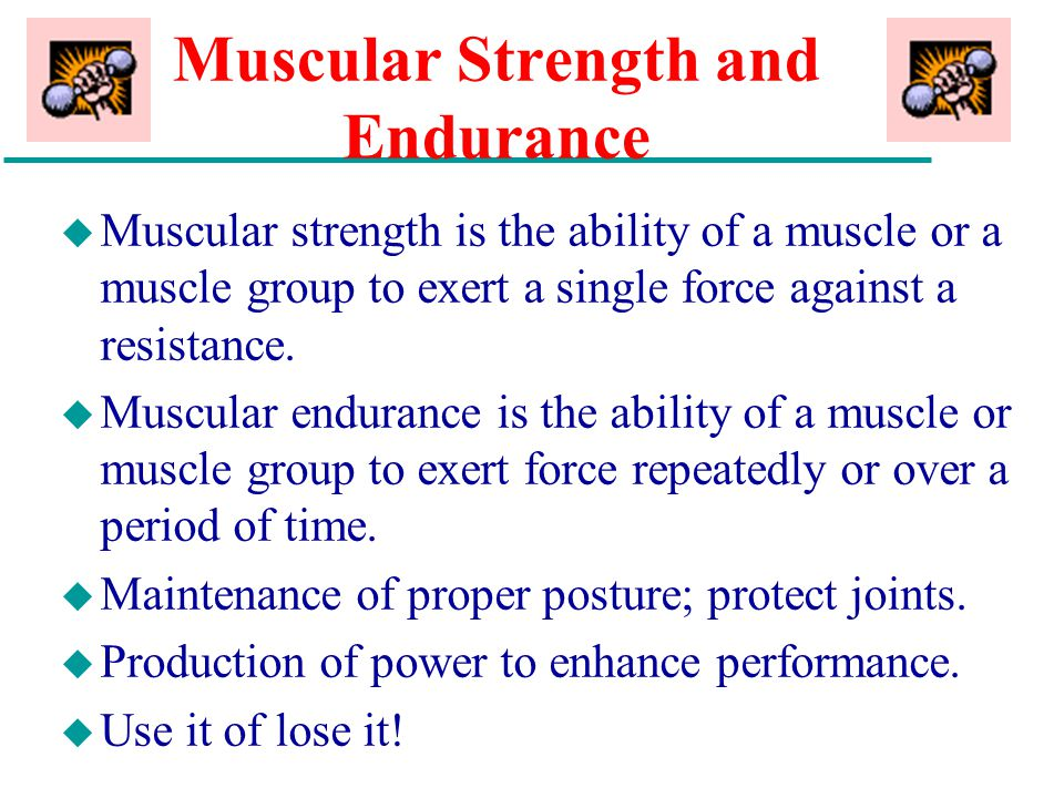 strength muscle and power pdf