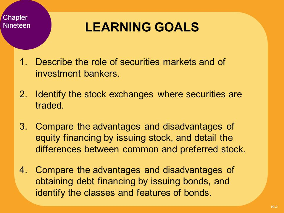 advantages and disadvantages of investing bond finance docx Disadvantages debt financing has its limitations and drawbacks qualification requirements you need a good enough credit rating to receive financing discipline you'll need to have the financial discipline to make repayments on time exercise restraint and use good financial judgment when you use debt.