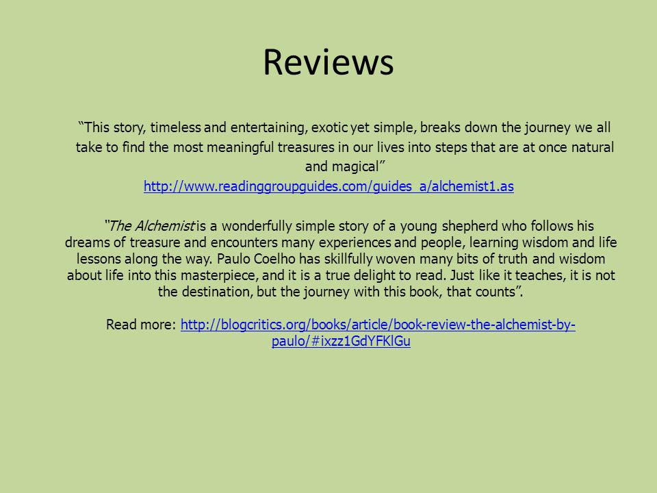 "the alchemist by paulo coelho ppt video online  3 reviews ""this story"