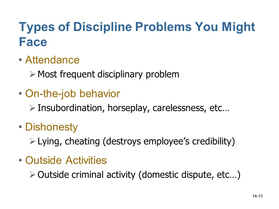 How to Discipline Insubordination in the Workplace