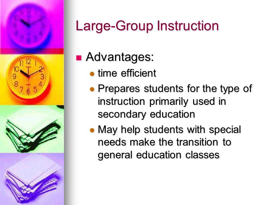Large Group Instruction 115