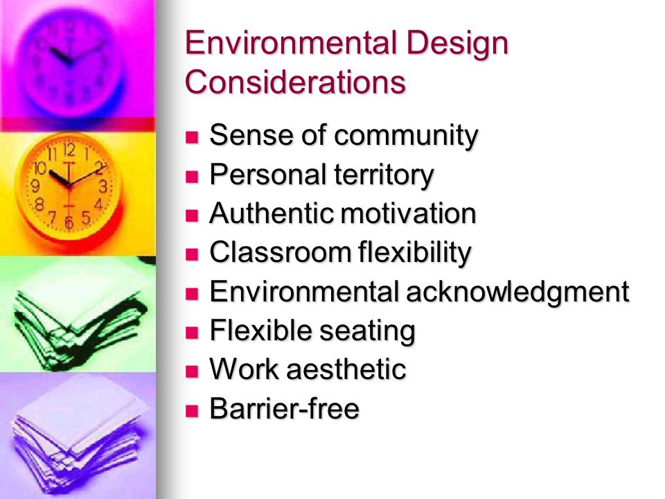 Classroom Design Considerations ~ Planning and organizing instruction ppt video online
