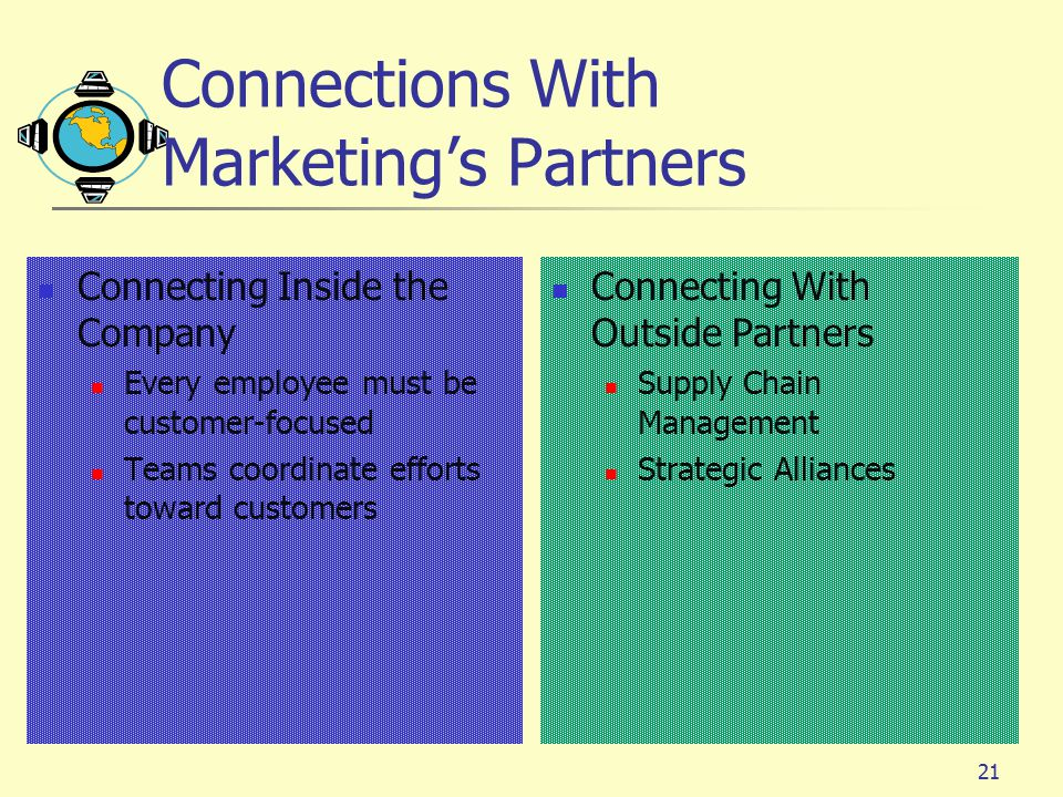 Connections With Marketing's Partners