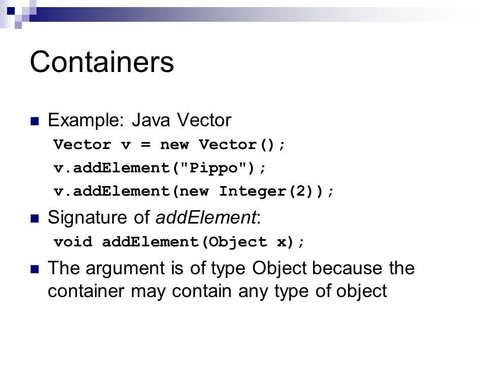 Vectors In Java Exle Program What Is Vector In Java The Best