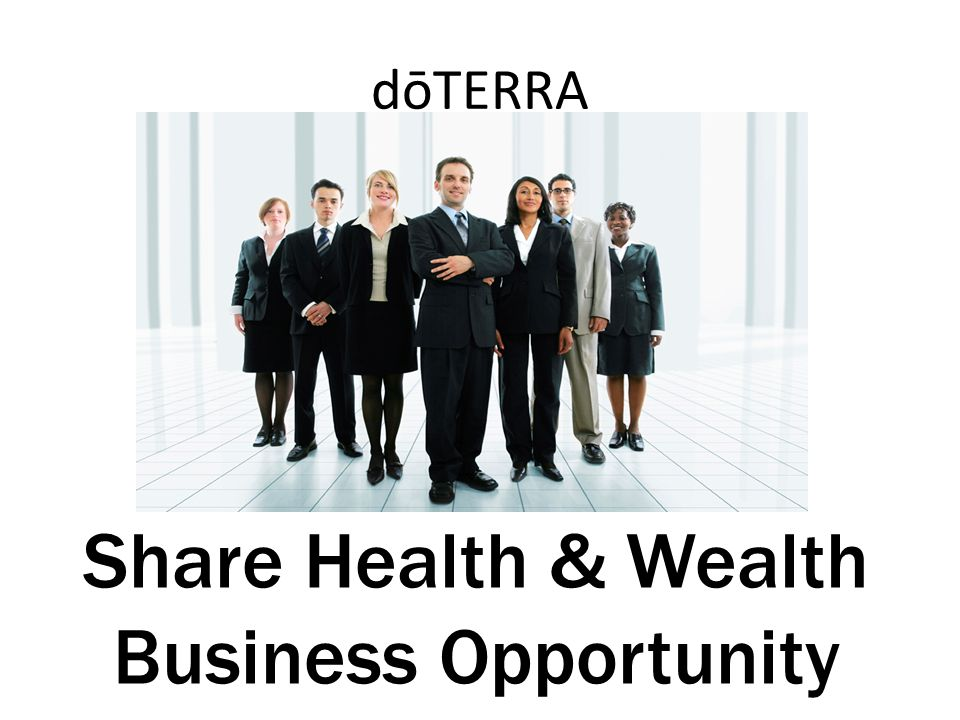 Share Health & Wealth Business Opportunity