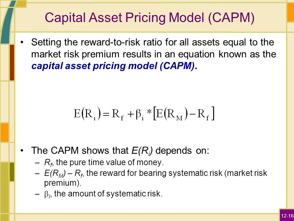 capital asset pricing model and systematic A stock with a beta equal to -10 has zero systematic (or market) risk a true b false  capital asset pricing model capital asset pricing model (capm).