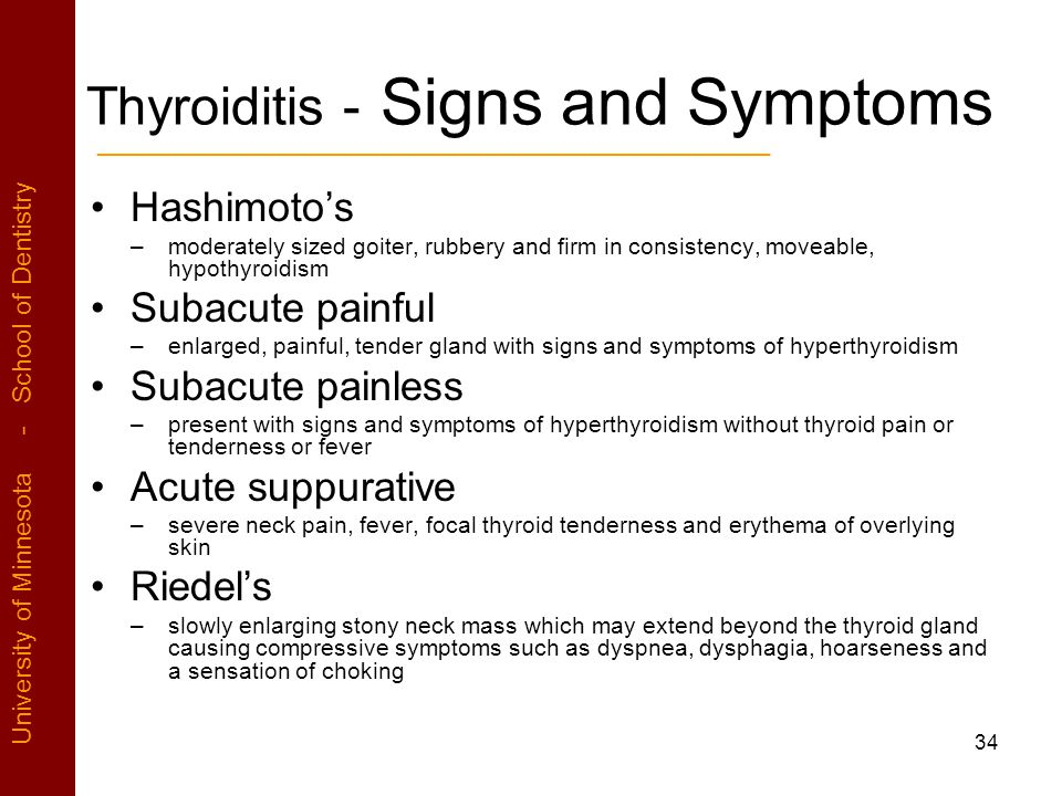 Excess Sympyoms Synthroid
