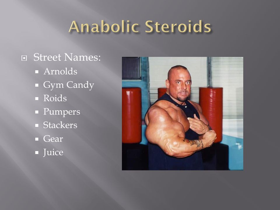 Street names for drugs and steriods