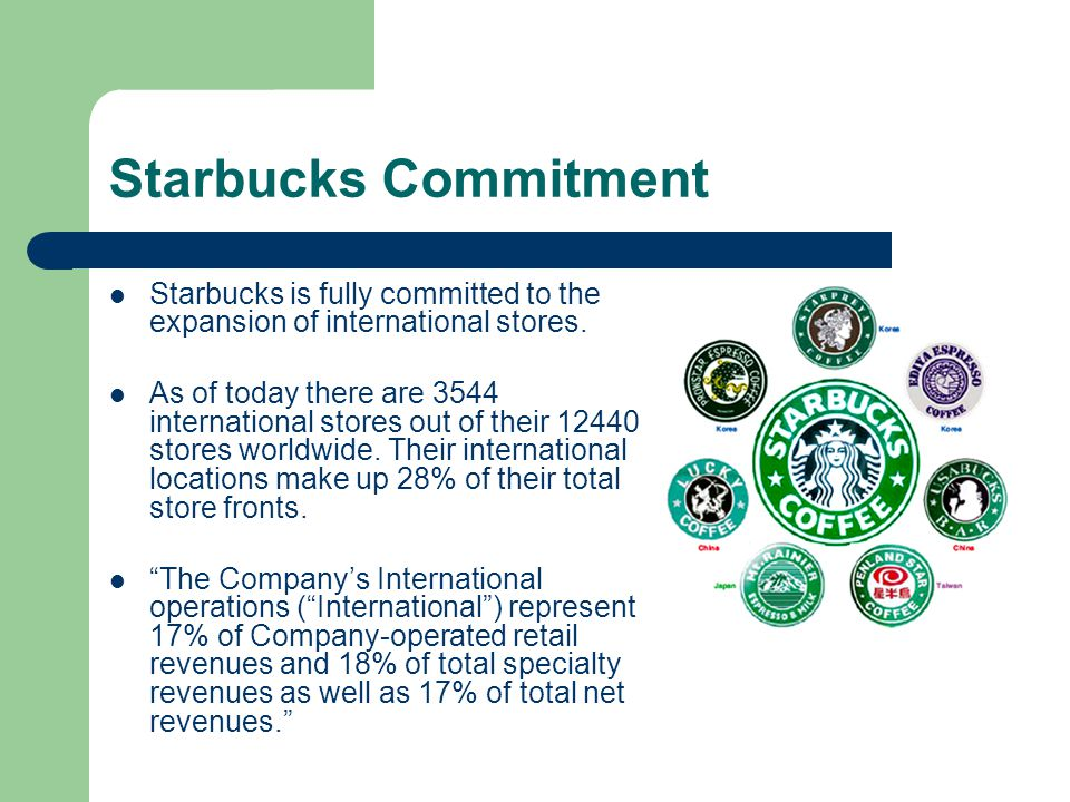 Starbucks: Aggressive Global Expansion Means Growth Percolating