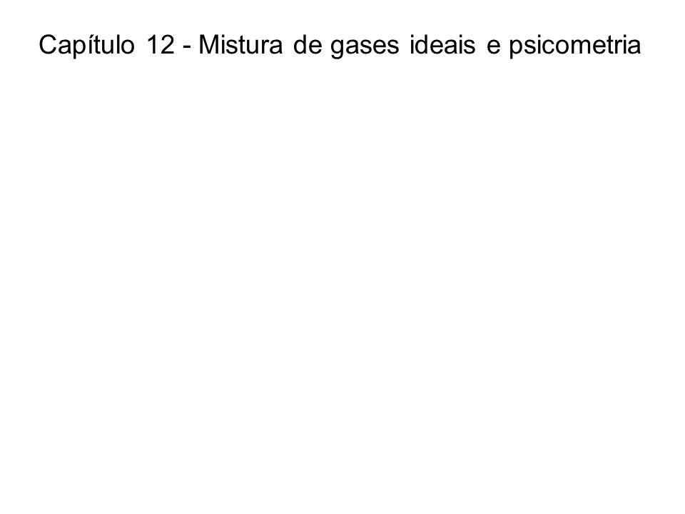 Capítulo 12 - Mistura de gases ideais e psicometria