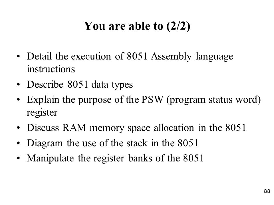 Chapter 2 the 8051 assembly language programming ppt download 88 you ccuart Images