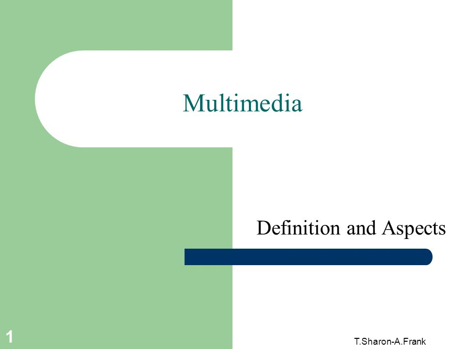 Definition and Aspects