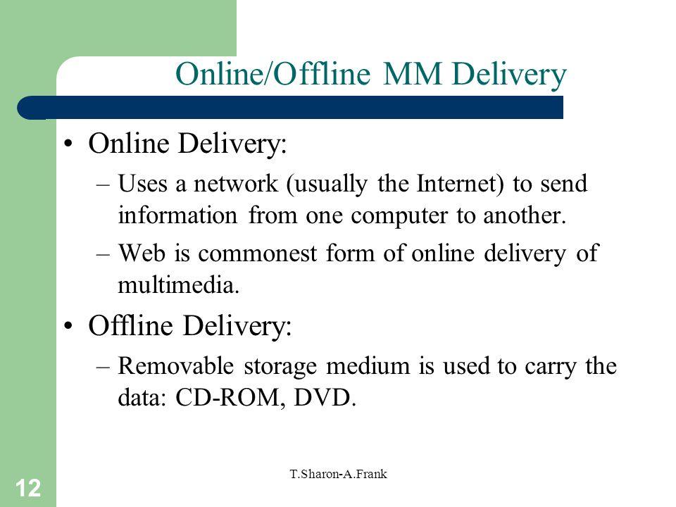 Online/Offline MM Delivery
