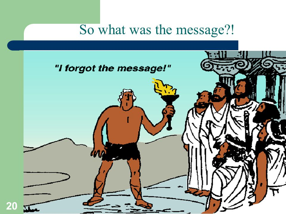 So what was the message ! T.Sharon-A.Frank