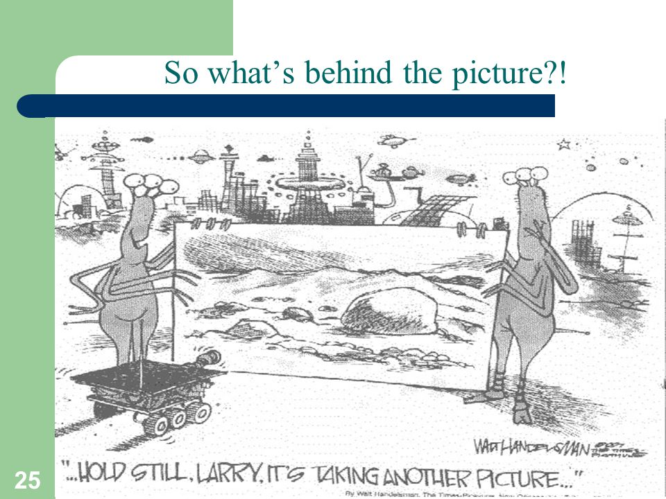 So what's behind the picture !