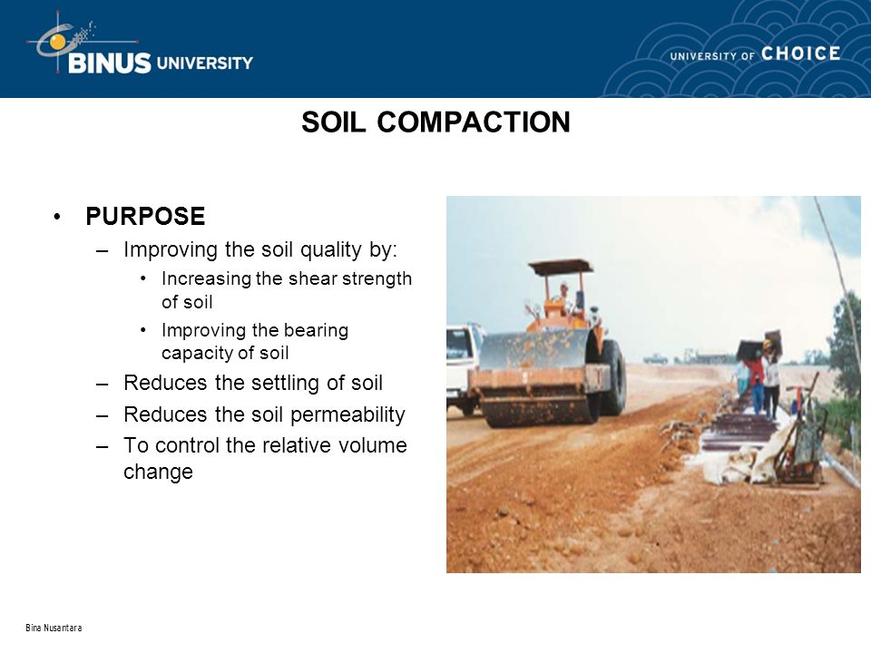 Topic 1 introduction to soil mechanic ppt download for Soil compaction