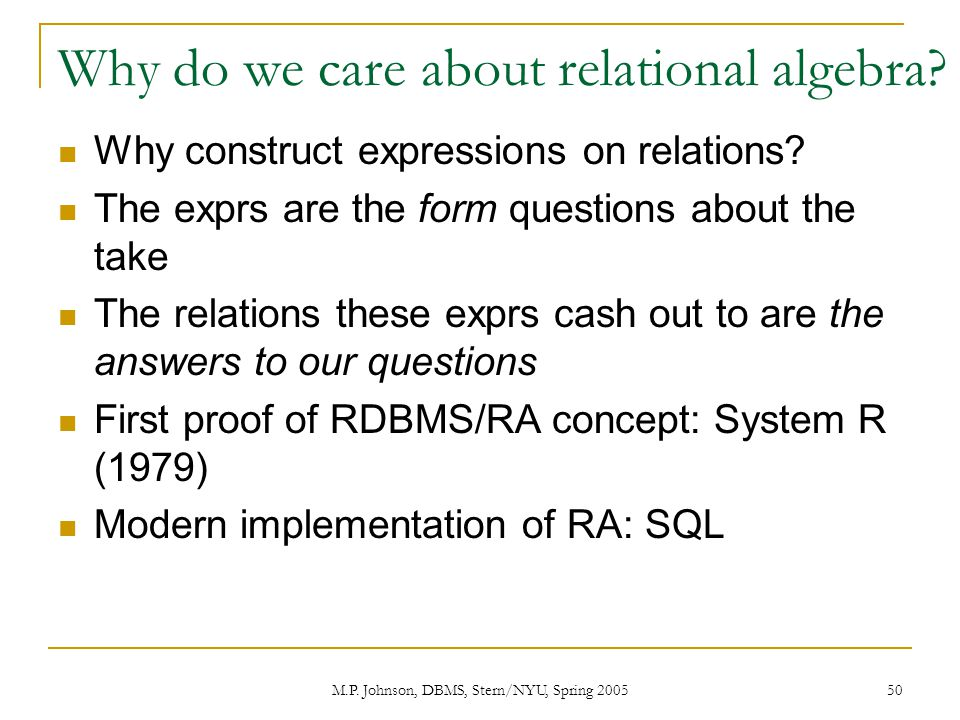 relational algebra questions and answers pdf