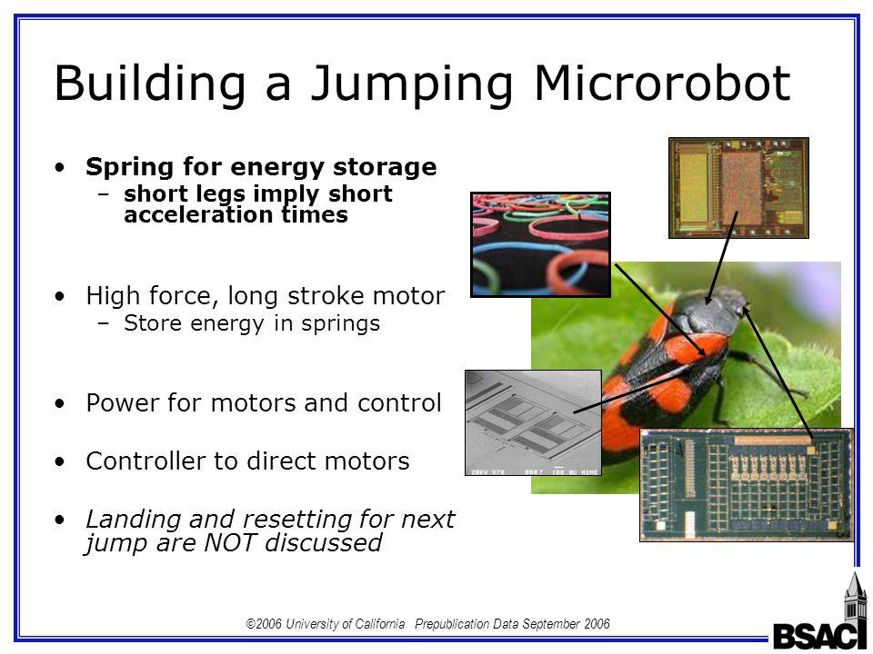 autonomous jumping microrobots essay The first launch of an autonomous thrust-driven microrobot using nanoporous energetic autonomous jumping microrobot using nanoporous energetic silicon.