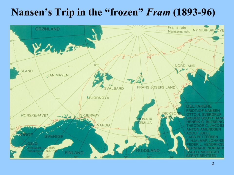 Nansen's Trip in the frozen Fram ( )