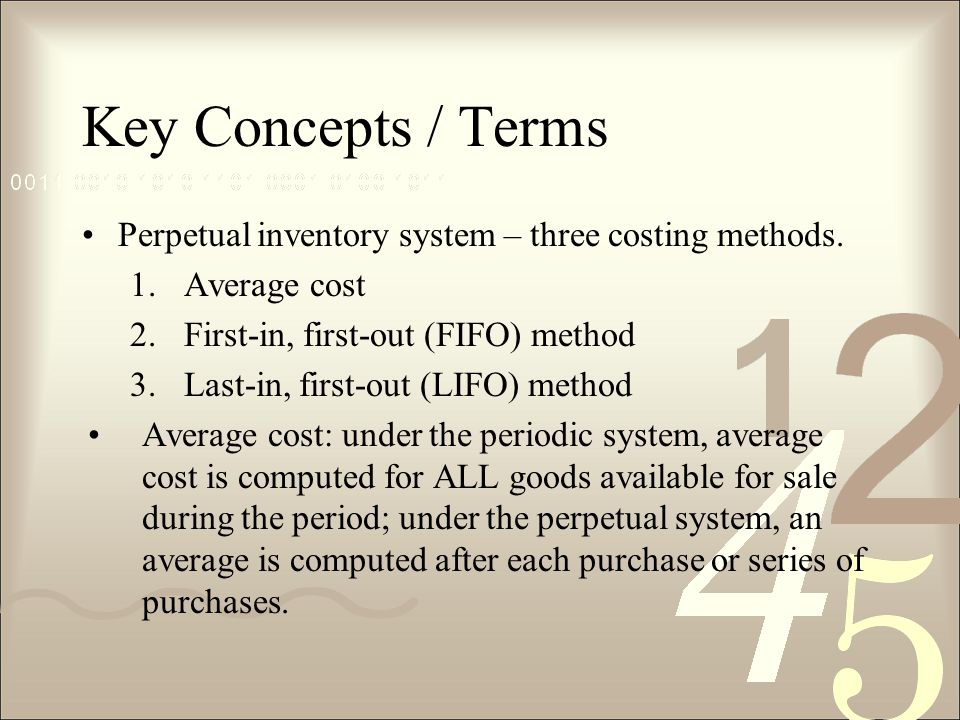 definition of terms inventory system This page provides the terminology used in inventory management which has a  body of knowledge, its own language and terminology.