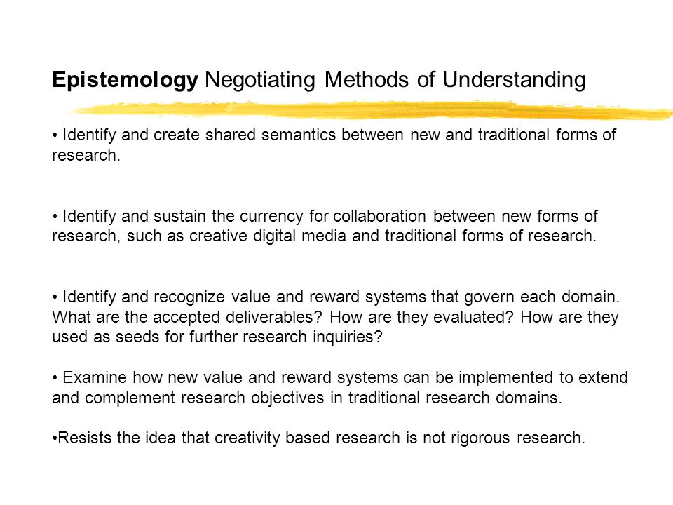 epistemology scientific method and knowledge Epistemology scientific method the debate on research in the arts to emphasize the interpretive nature of scientific knowledge.