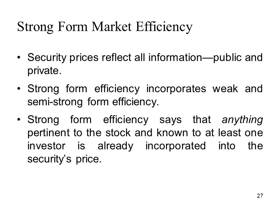 Chapter 13 Corporate Financing and Market Efficiency - ppt download