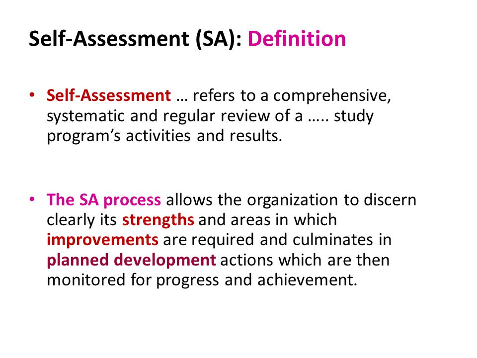 Window  SelfAssessment Exercise  Ppt Video Online Download