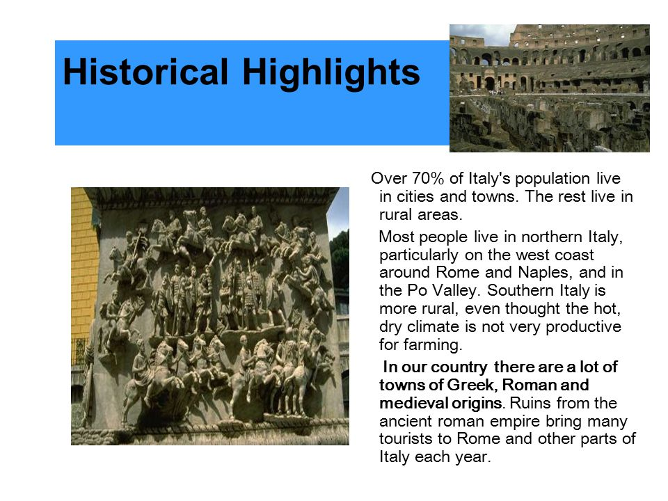 Historical Highlights