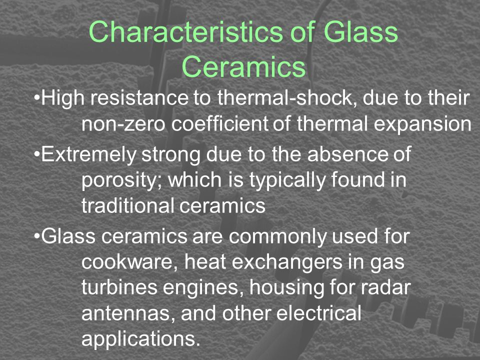 characteristics and applications of soluble glass Recent innovations in metallic glasses have led to new alloy classes that may be   until the commercialization of iron-based glasses for magnetic applications   one remarkable characteristic of the latter systems is that the alloys contain 80  at  behavior can be observed with both soluble and insoluble additions.