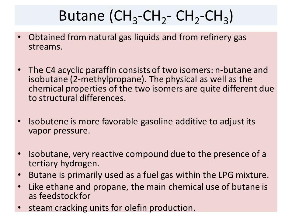 Isobutane N Butane Natural Gas