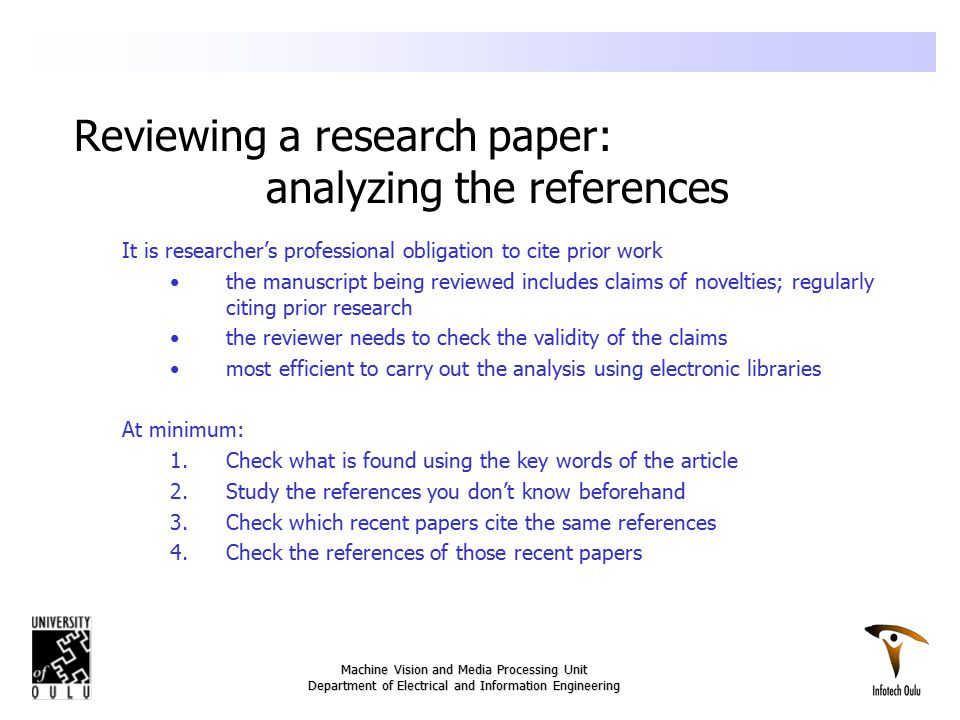 what to cite in a research paper Writing a paper, especially a research paper, requires you to cite your source for any information or thoughts that are not your own if you do not, you risk being.