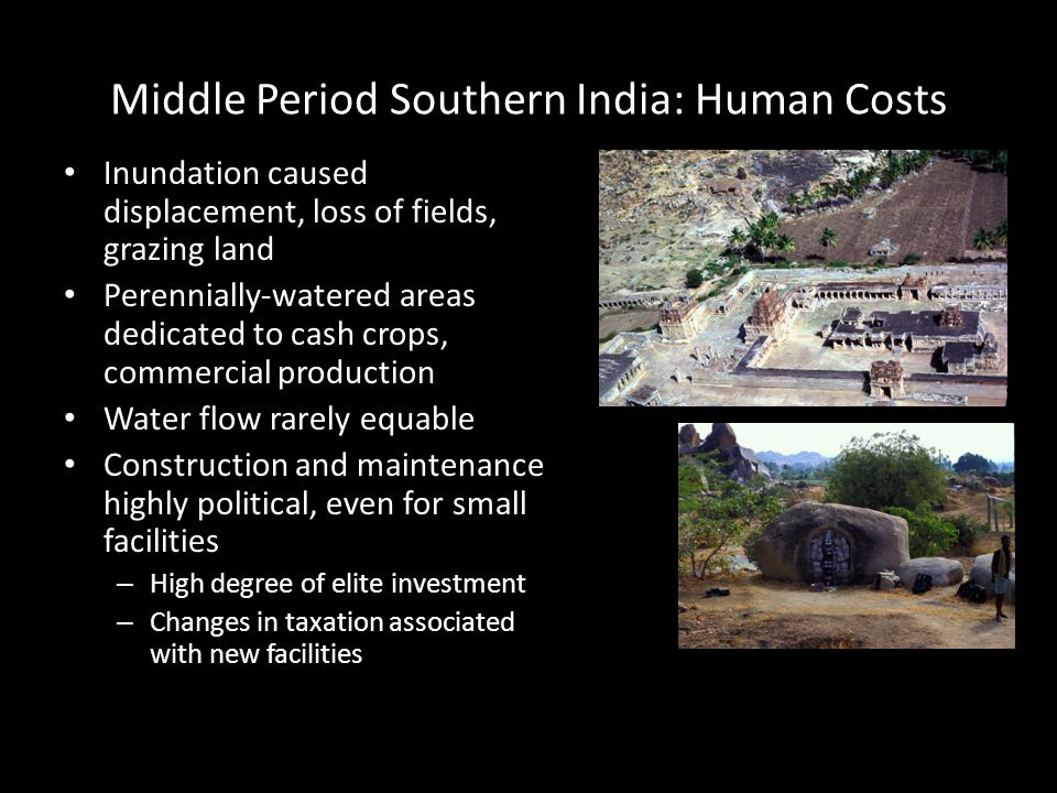 Middle Period Southern India: Human Costs