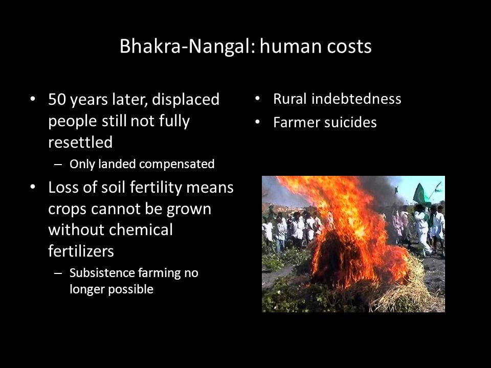 Bhakra-Nangal: human costs