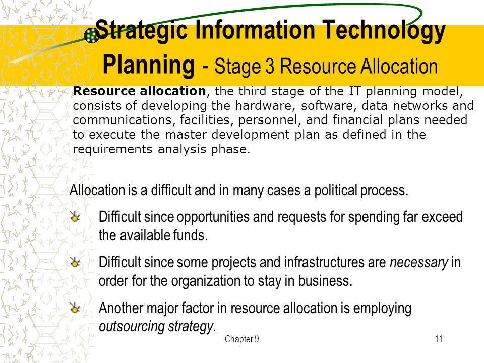 emergent strategy development and resource allocation process Search on marketing strategy development  allocation of resources to be  basically a bottom-up,  gies that become realized) from emergent strategies.