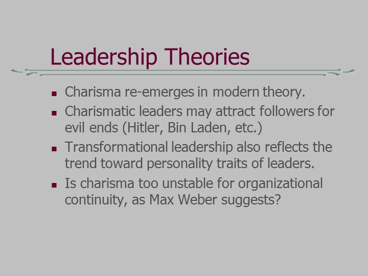 List of Theories