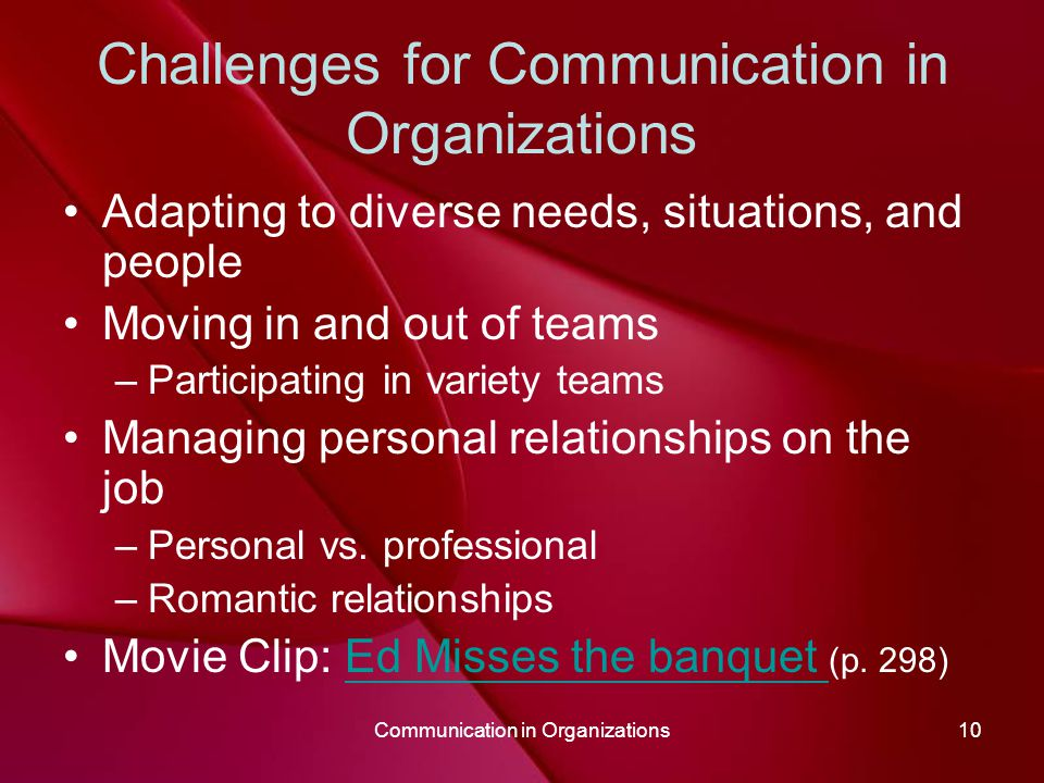 communication and professional relationships Haptic communication is a branch of nonverbal communication that refers to the ways in  functional/professional  touching in intimate relationships may also be.