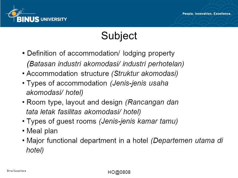 Accommodation industry industri akomodasi week 3 ppt for Design hotel definition